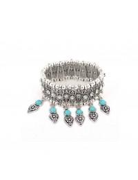 B216-Bracelet turquoises