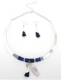 N939-Parure collier ethnique