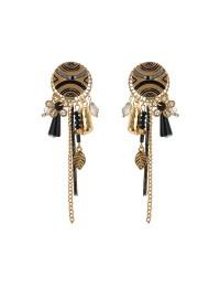 Boucles d'oreilles clips orientales
