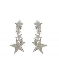 Boucles d'oreilles clips étoiles