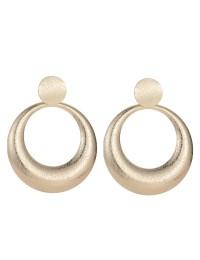 boucles d'oreilles métal cercles